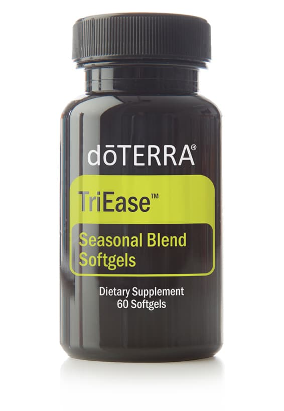 TriEase Softgels doTERRA Essential Oil
